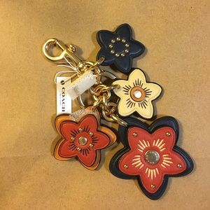 NWT Coach Wildflower keycharm